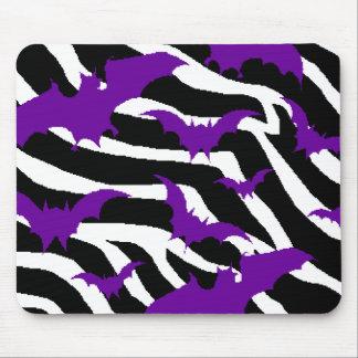 Zebra Bats Mouse Pad