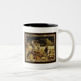 Zebra, Birchell's wildlife safari mugs & cups