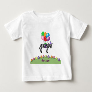 zebra birthday baby T-Shirt
