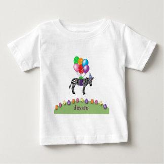 zebra birthday tee shirt