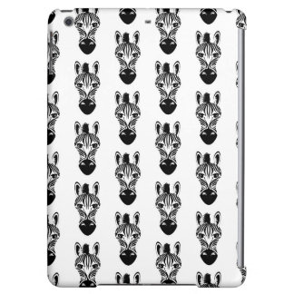 Zebra Black and White Case For iPad Air