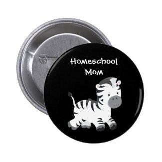 Zebra Black and White Homeschool Mom