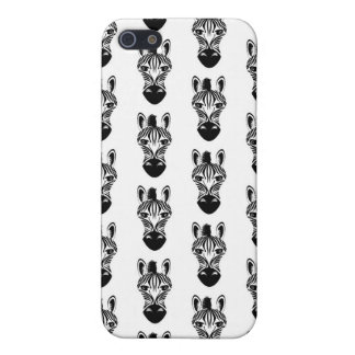 Zebra Black and White Pattern iPhone SE/5/5s Case