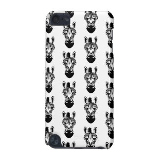 Zebra Black and White Pattern iPod Touch (5th Generation) Cover