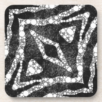 Zebra Bling Coaster