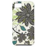 """Zebra Blooms"" iPhone iPhone 5 Case"