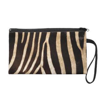 Zebra Body Fur Skin Case Cover Wristlet Purses