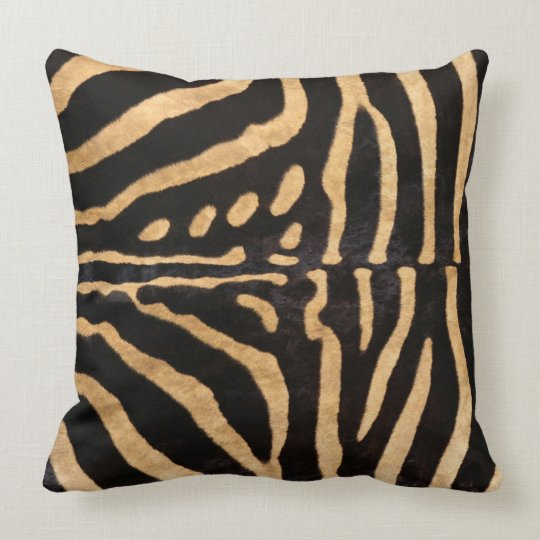 Bohemian Style Throw Pillows : Zebra Bohemian Style Throw cushions _ Pillows Zazzle
