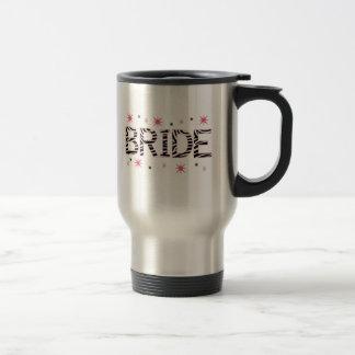 Zebra Bride Travel Mug