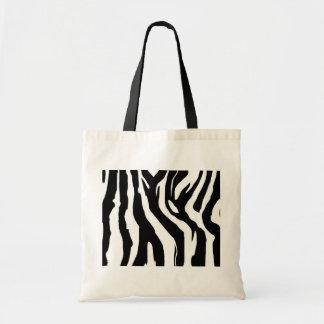Zebra Budget Tote Bag