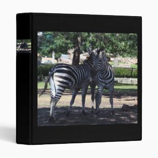 Zebra Buds Binder