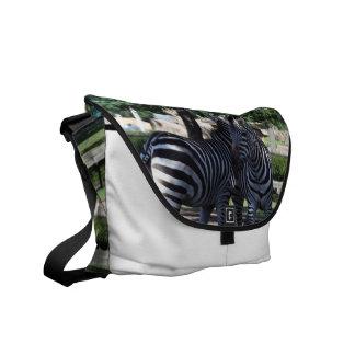 Zebra Buds Courier Bag
