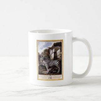 Zebra by Luis Paret y Alcazar Coffee Mug