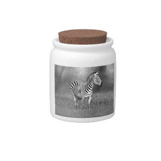 Zebra Candy Dishes