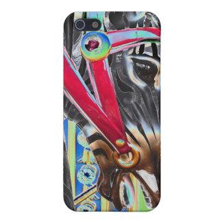 Zebra Carousel Horse Case For iPhone SE/5/5s