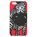 Zebra Case red 4G iphone Cover For iPhone 5C