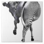 zebra ceramic tile