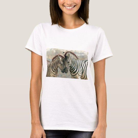 zebra-clip-art-3 T-Shirt