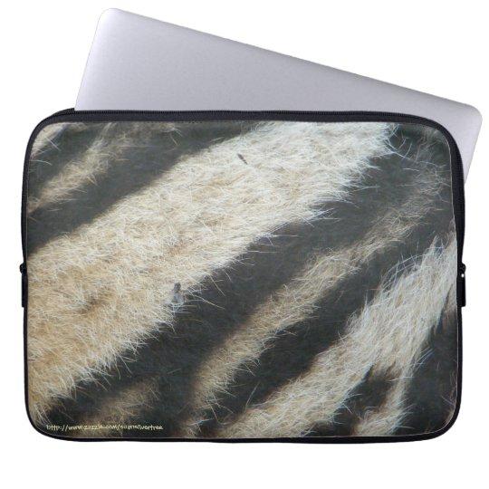 Zebra Computer Sleeve