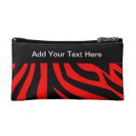 Zebra Cosmetic Bags