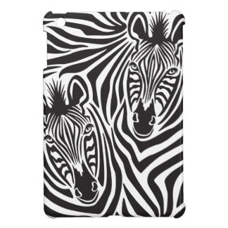 Zebra Couple iPad Mini Cases