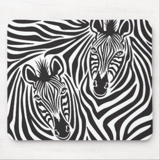 Zebra Couple Mousepad