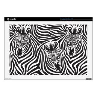 """Zebra Couple Skins For 17"""" Laptops"""