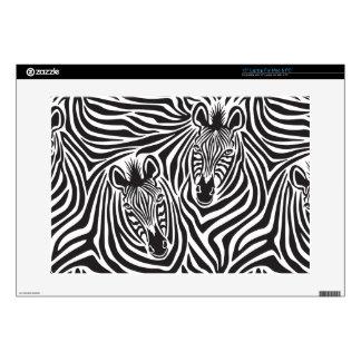 Zebra Couple Skins For Laptops