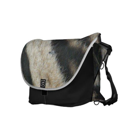 Zebra Courier Bag