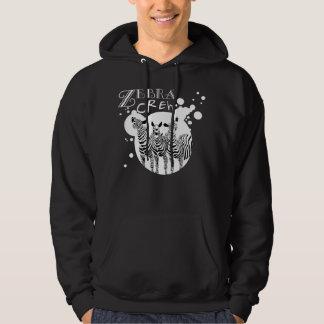 Zebra Crew Splatter Dark Shirt