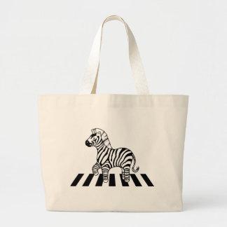Zebra Crossing Canvas Bags