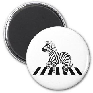 Zebra Crossing Refrigerator Magnets