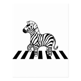 Zebra Crossing Post Cards