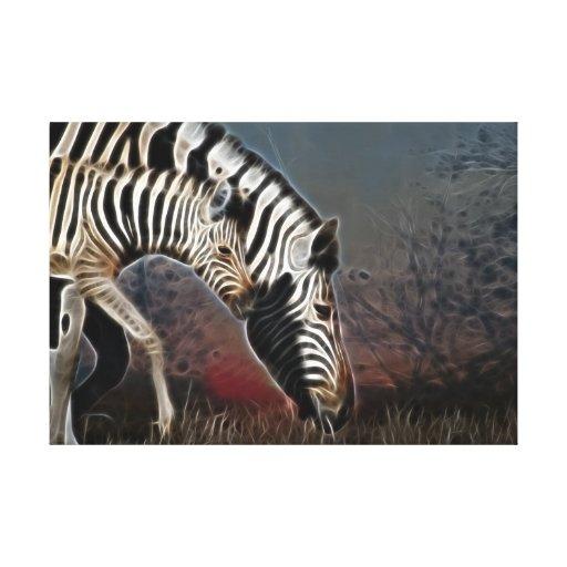 Zebra Crossing  series South Africa Canvas Print