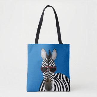Zebra Custom All-Over-Print Tote Bag