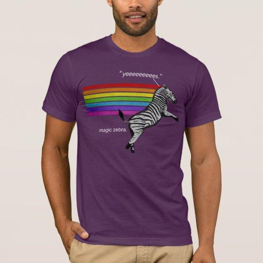 Zebra de Magic T-Shirt