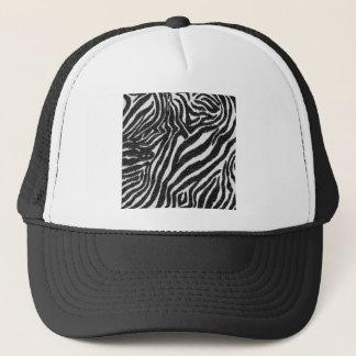 Zebra Design black White Vintage Pattern Styles Trucker Hat