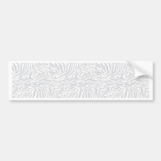 Zebra Design Bumper Sticker