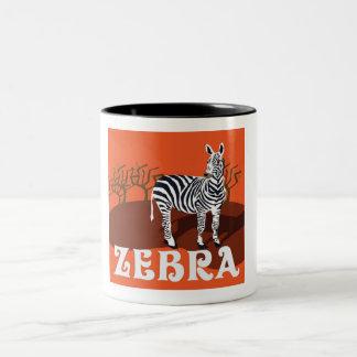 Zebra Design Coffee Mug