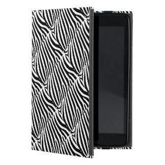 Zebra Design on iPad Mini Case with No Kickstand