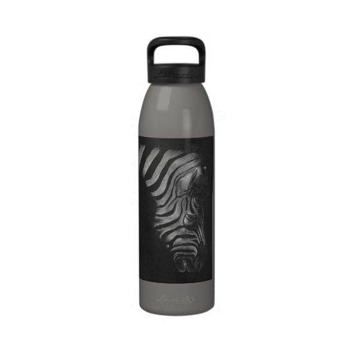 Zebra Design Reusable Water Bottles
