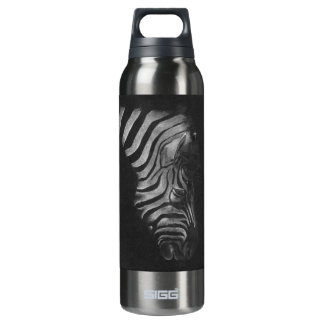 Zebra Design 16 Oz Insulated SIGG Thermos Water Bottle