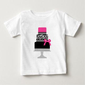 Zebra Diva Cake Baby T-Shirt