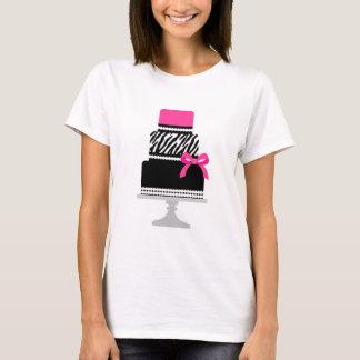 Zebra Diva Cake T-Shirt