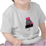 Zebra Diva Cake Tee Shirts