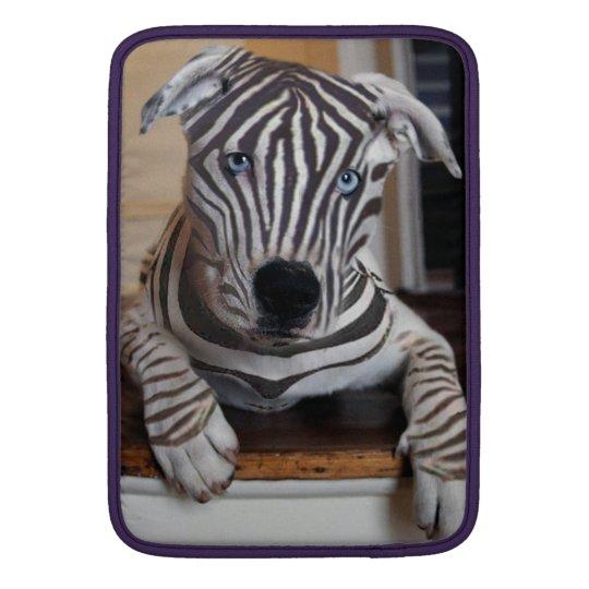 Zebra Dog MacBook Sleeves