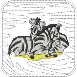 Zebra Embroidered Jacket