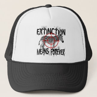Zebra Extinction? Trucker Hat
