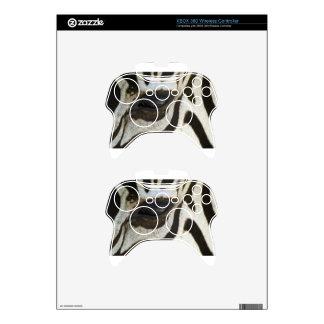 Zebra Eye Black and White Safari Gift Present Xbox 360 Controller Skins