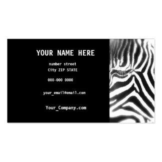 ZEBRA EYE Business  Card Business Card